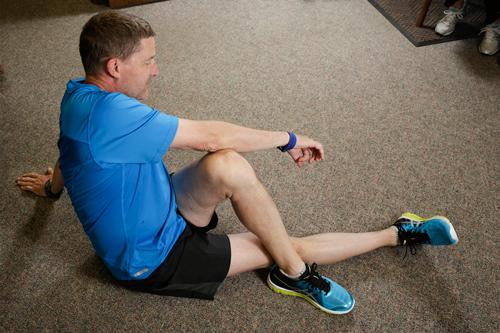Dr. Paul Coffin - Stretching - Pretzel