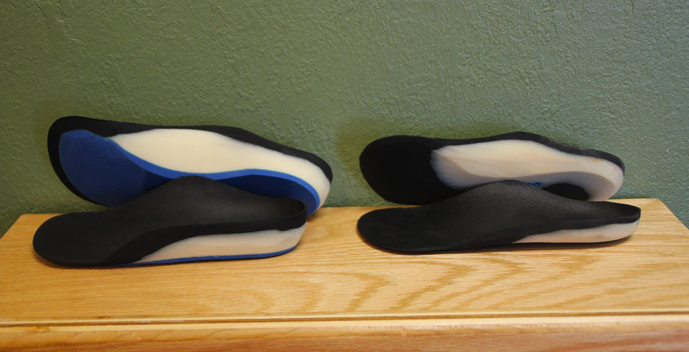 PRI Orthotics - Low Profile vs. Regular